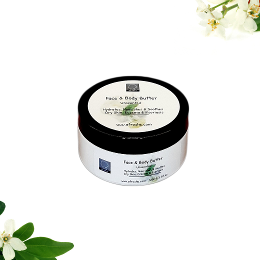 face & body butter unscented