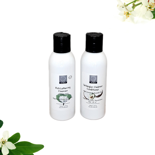 cleanser & 3in1 conditioner