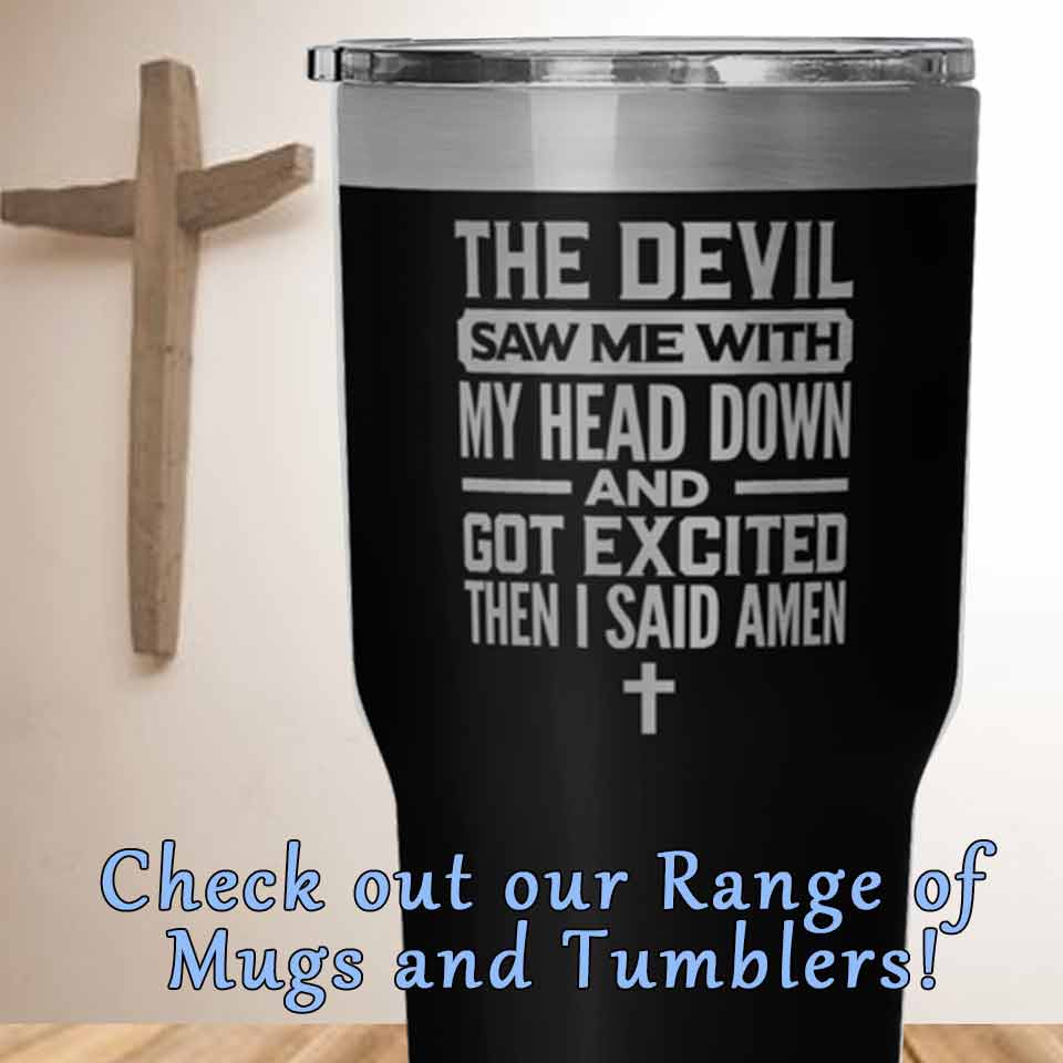 christian mugs and tumblers