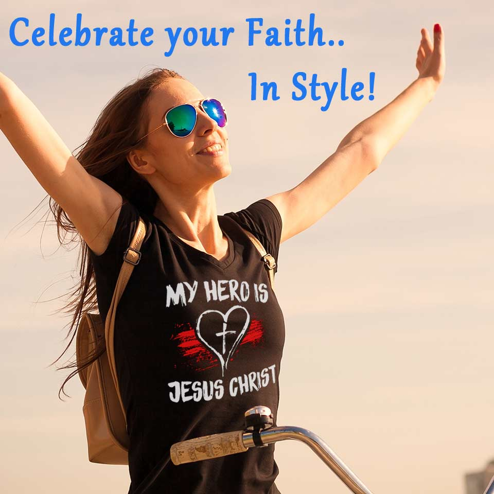Christian faith wear with pride in style