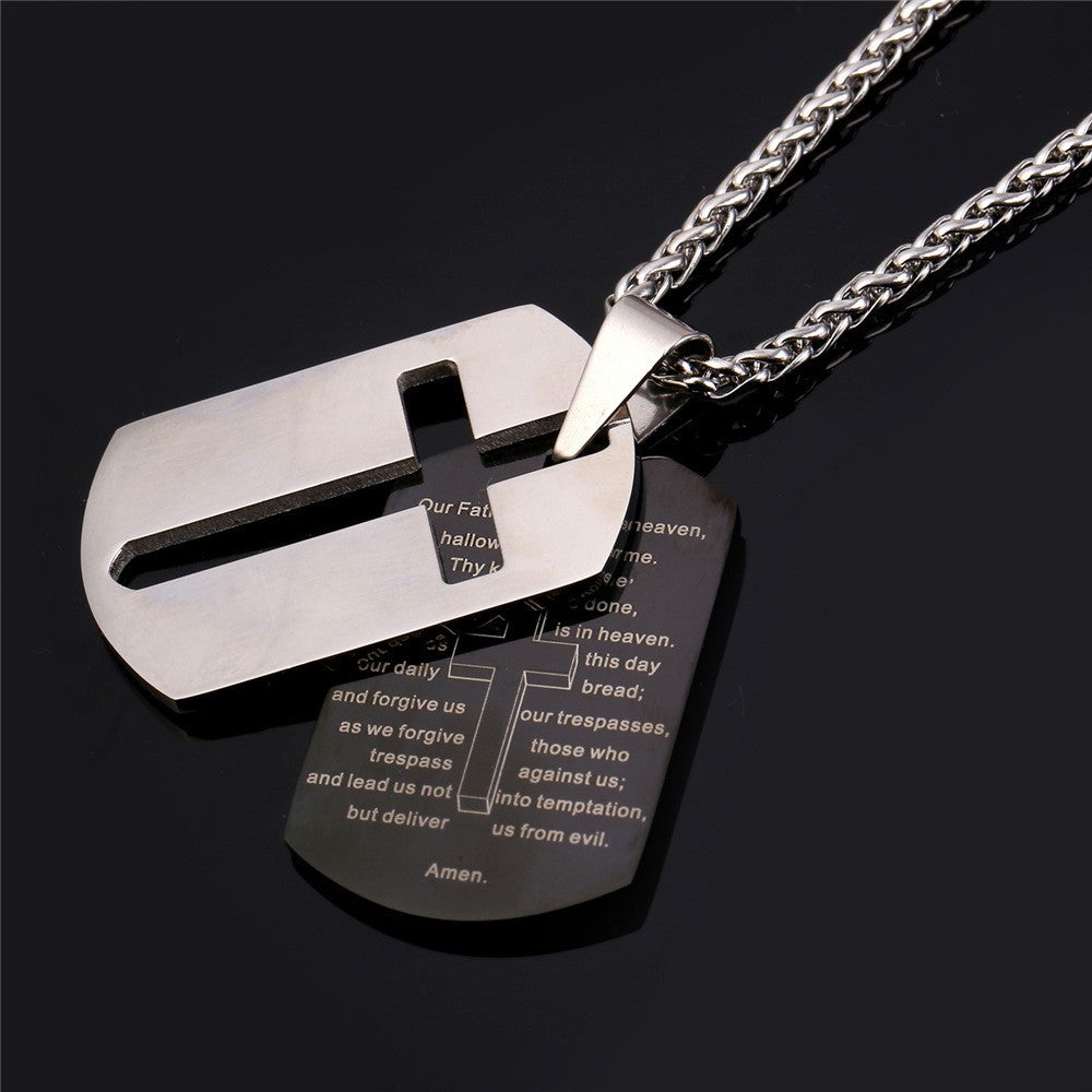Lord S Prayer Dog Tags Christianstyle