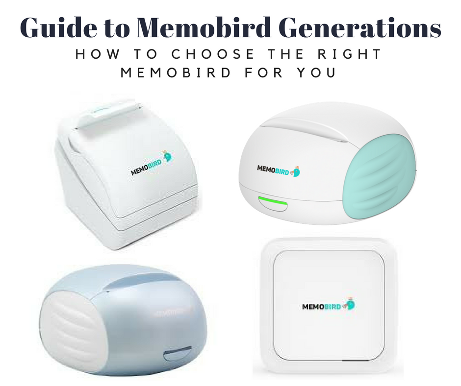 MEMOBIRD Generations -  Generations explained & how to choose one