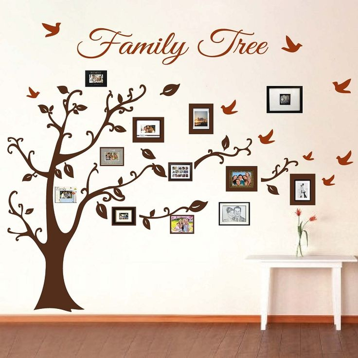 Family Art Craft Idea Grow Your Family Tree Of Memories Knectek