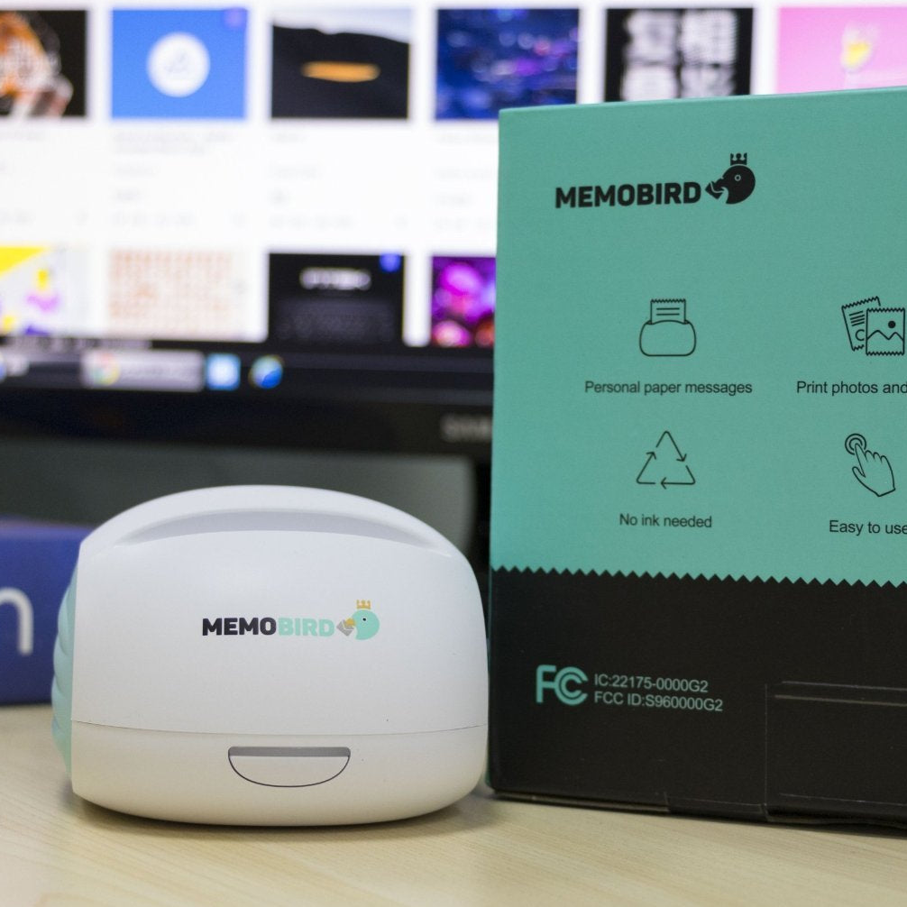 Memobird Mobile Printer Green