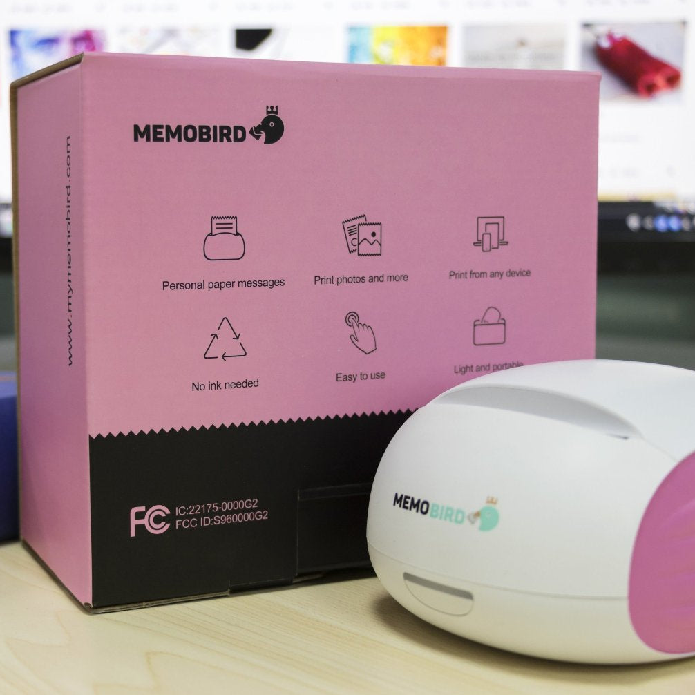 Memobird Mobile Printer Pink