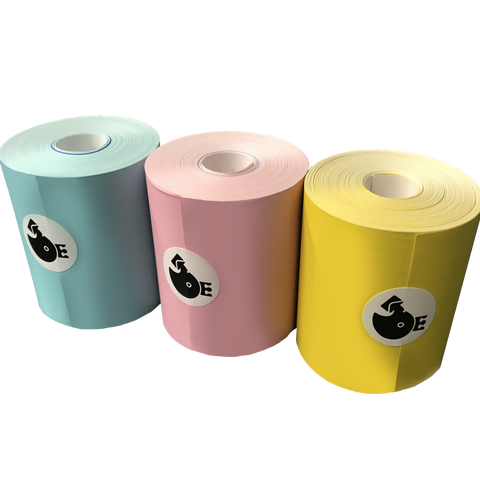 Memobird Official Replacement Paper Pack, Assorted Color Combo