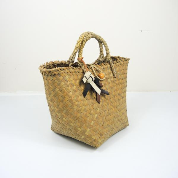 Extra Light Straw Beach Bag (Small)