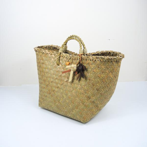 Extra Light Straw Beach Bag (Medium)