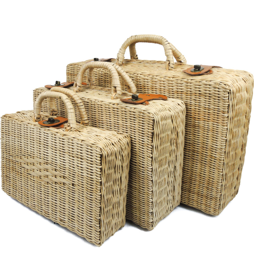 Rattan Louis Picnic Travel Trunk