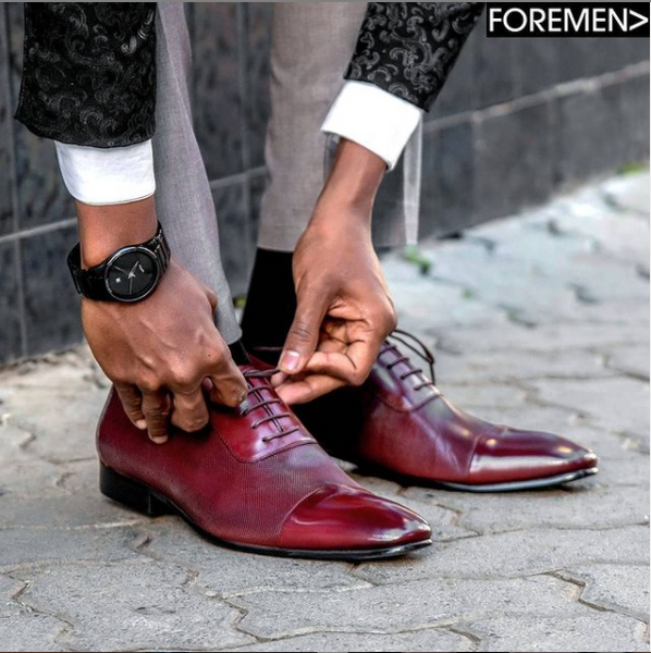 FOREMEN | Shoes Maketh A Man