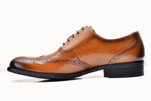ZARANA | Brown oxford shoes