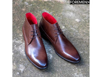 JAMES HILL | Coffee Chukka Boots