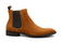 PARIS | Tan Suede Chelsea Boot