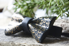 Porcelain Bow Tie - Animal Pattern