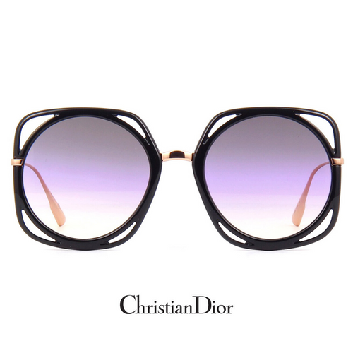 Christian DiorDirection1 Pink-Gold Oversized