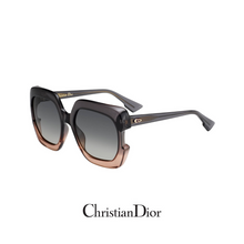 Christian Dior - Square - Oversized - Transparent Brown&Beige