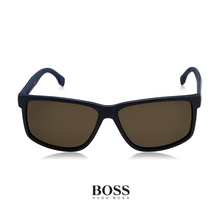 Hugo Boss Rectangle Blue Polarized