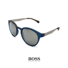 Hugo Boss Round Unisex Blue