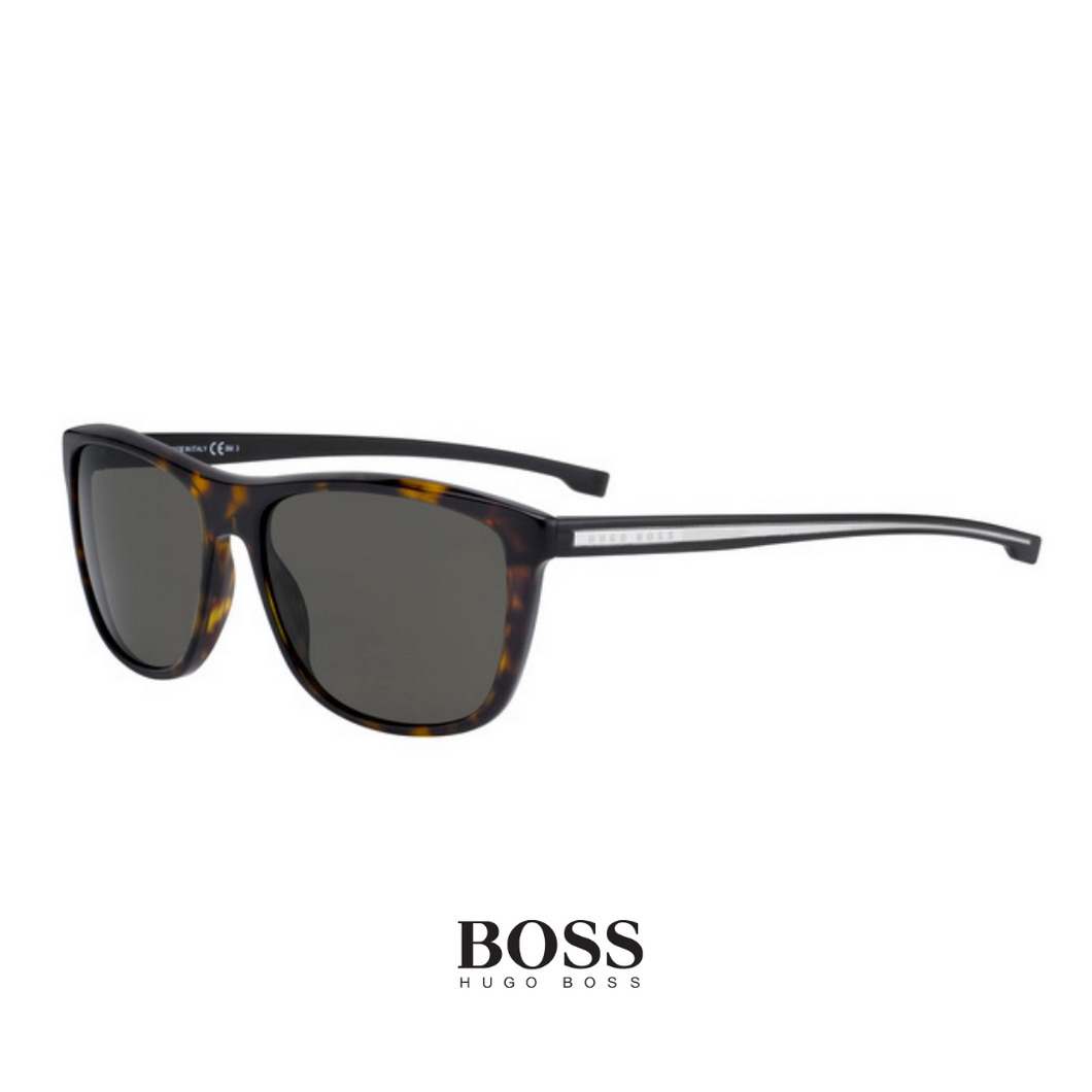 Hugo Boss Rectangle Havana