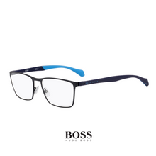 Hugo Boss Eyewear - Rectangle - Dark Blue/Light Blue, Metal
