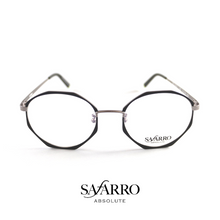 "Safarro Eyewear - ""Bellagio"" - Black/Silver"