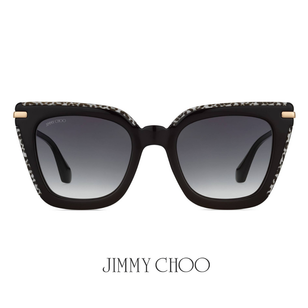 Jimmy Choo Cat Eye Black&White