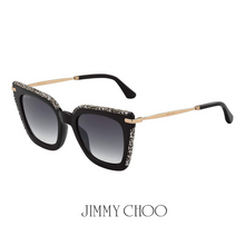 Jimmy Choo Cat-Eye Black&White