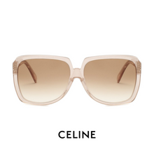 Celine - Transparent Rose Glitter
