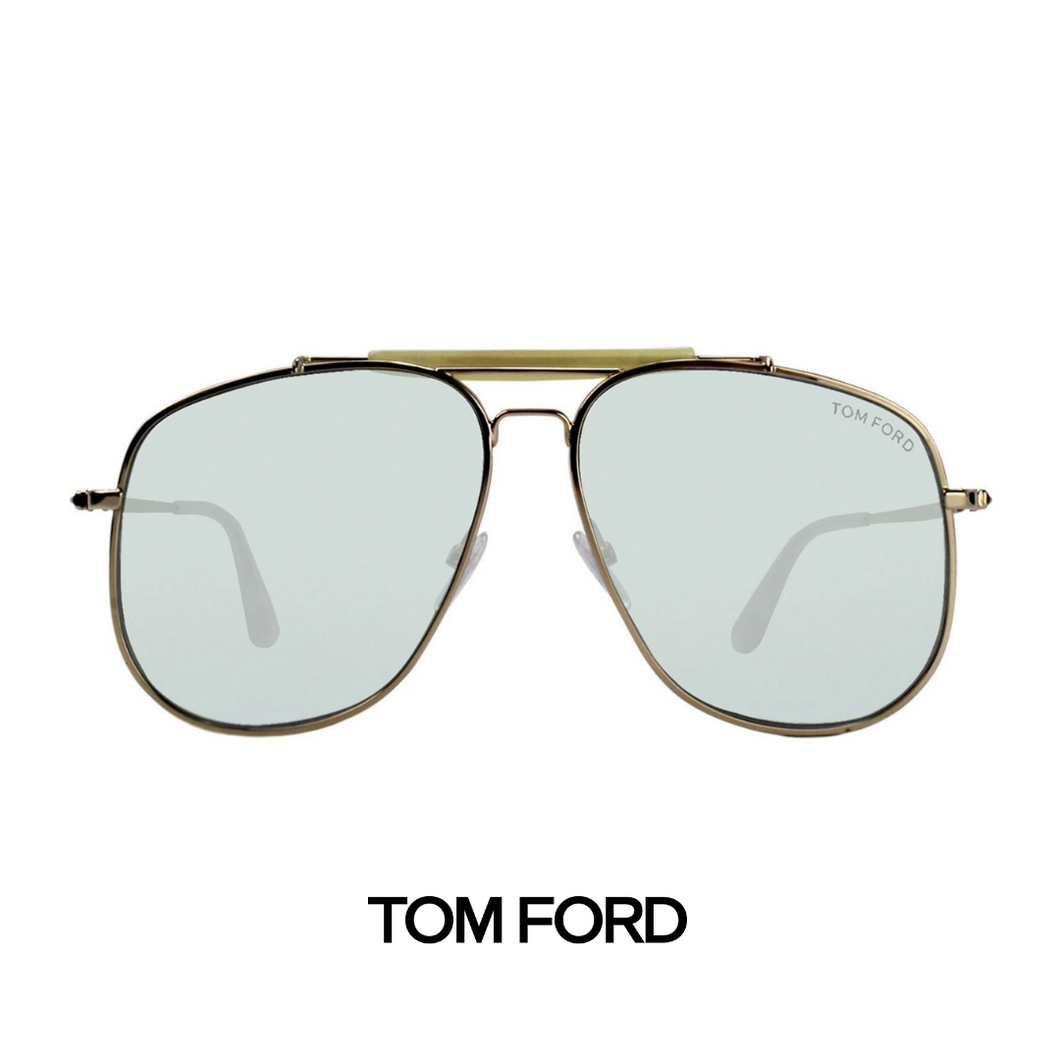 Tom Ford - 'Connor-02' - Gold&Light Blue