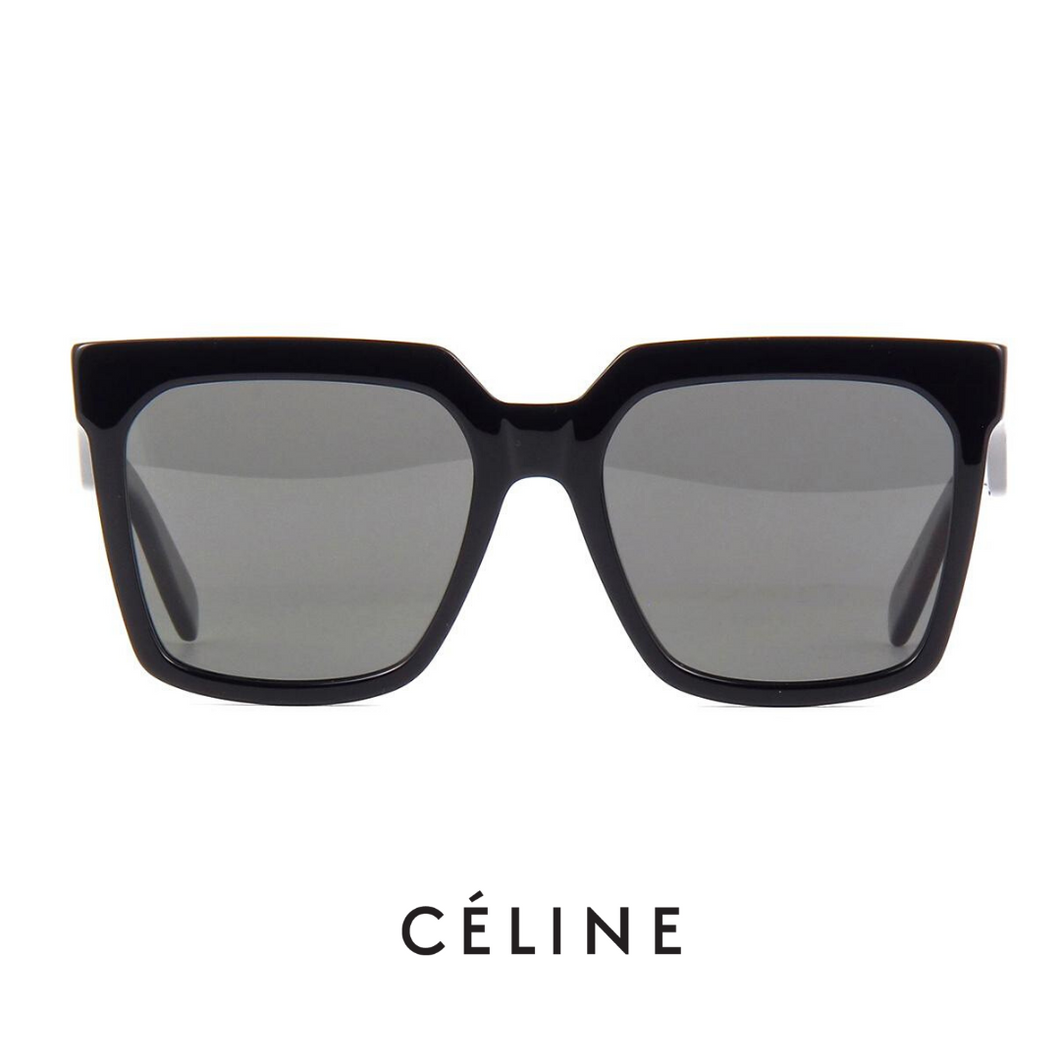Celine Oversized Black Polarized