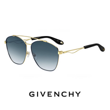 Givenchy gold & blue