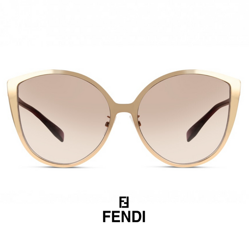 Fendi is Fendi Cat-Eye Rose-Gold