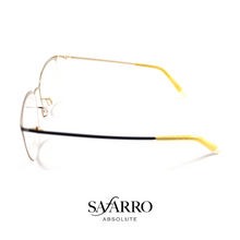 "Safarro Eyewear - ""Cortina"" - Black/Gold"