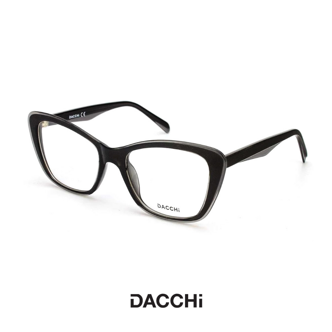 Dacchi Eyewear - Black/Transparent Grey