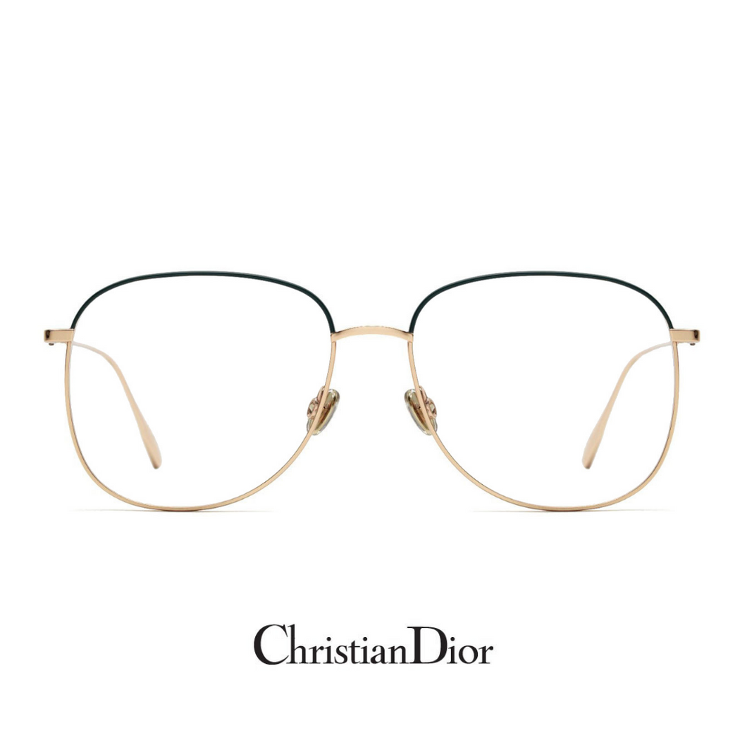 Christian Dior Eyewear - Square - Gold/Black