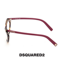 Dsquared2 Eyewear - Cat-Eye - Crystals&Havana