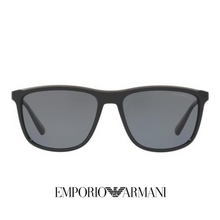 Emporio Armani Grey Mat Polarized