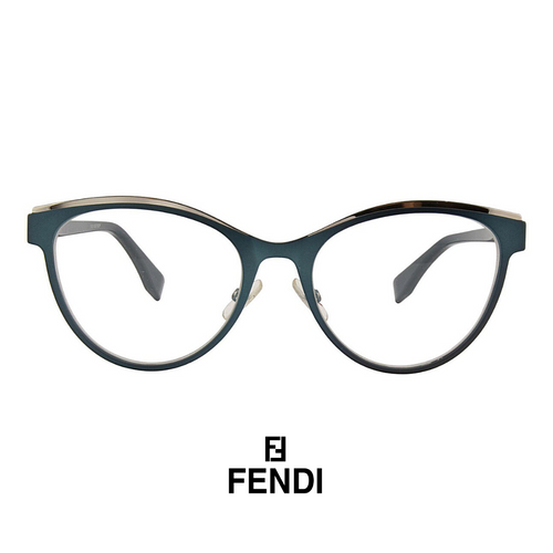 Fendi Eyewear - Cat-Eye - Teal