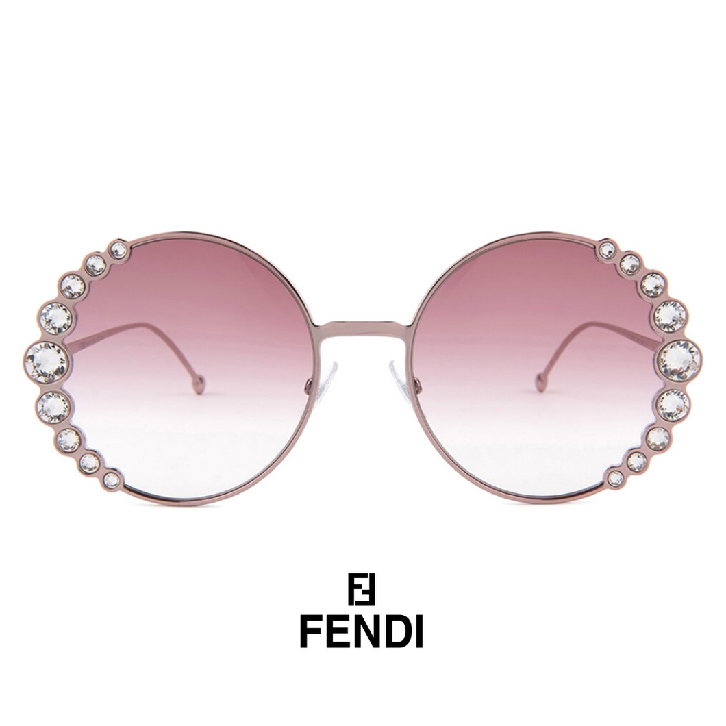 Fendi Crystals Pink
