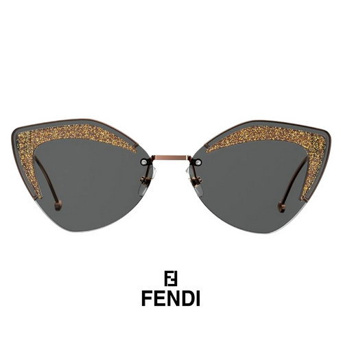 Fendi Grey Cat-Eye