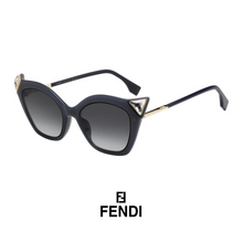Fendi Cat-Eye Navy Blue