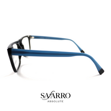 "Safarro Eyewear - ""Fasano"" - Black/Blue"