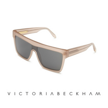 Victoria Beckham Flat Top Visor Milky Taupe