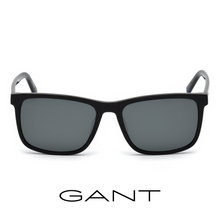Gant Rectangle Black Polarized