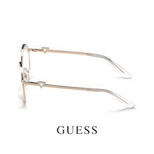 Guess Eyewear - Round - Transparent/Gold