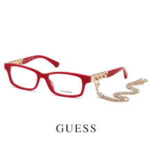 Guess Eyewear - Rectangle - Red/Gold