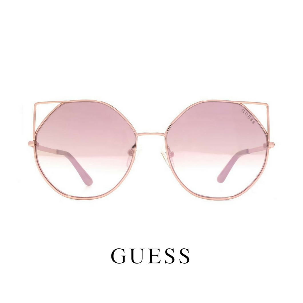 Guess Shiny rose gold butterfly naočare
