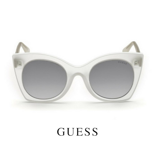Guess Transparent White