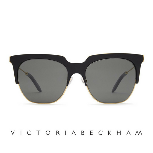 Victoria Beckham Layered Combination Square Acetate Brow Bar