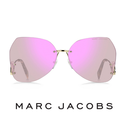 Marc Jacobs Irregular Rimless Pink